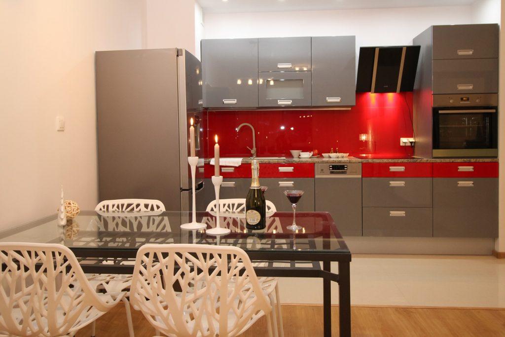 cuisine rouge décoration