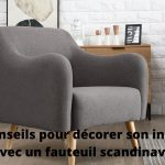 Comment aménager son intérieur avec un fauteuil scandinave?