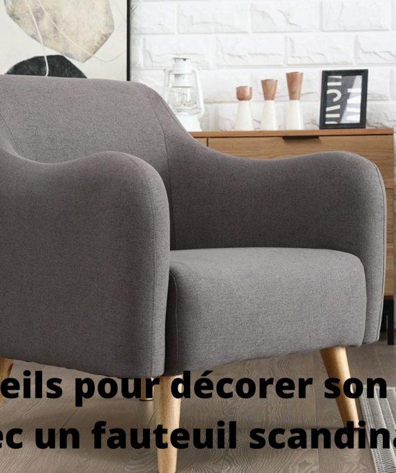 fauteuil scandinave